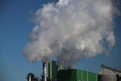 Химический завод в зоне Botlek в гавани Роттердама Ne Стоковые Изображения