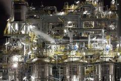 Химический завод в Польша Стоковое фото RF