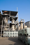химический завод фосфата Стоковые Фото