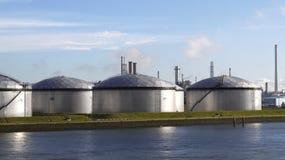 химический завод Стоковые Фотографии RF