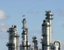 химический завод Стоковая Фотография