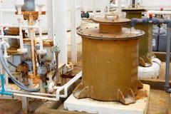Химический завод азота Стоковые Фото