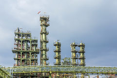 Химический завод в Франкфурте Стоковые Изображения