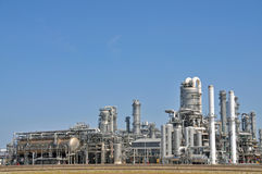 Химический завод Стоковая Фотография RF