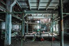 Химический завод Krasnoyarsk Yenisei Стоковые Фотографии RF