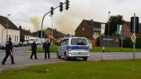 Химический пожар Стоковое фото RF