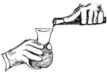 Химический эксперимент Стоковые Изображения