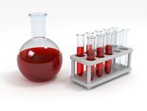 химическое испытание Стоковая Фотография