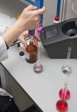 Химическое испытание Стоковые Фотографии RF