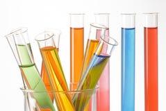 химическое исследование Стоковые Фотографии RF
