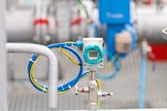 химическое масло фабрики Стоковые Изображения RF