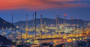 химическое масло фабрики Стоковое фото RF