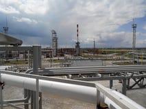 химическое масло фабрики Стоковое Изображение RF