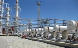 химическое масло фабрики Стоковые Фотографии RF