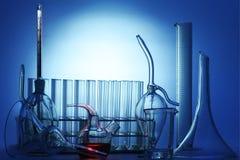 химическое оборудование Стоковые Фотографии RF