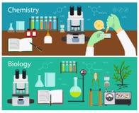 Химия и биология Стоковое фото RF