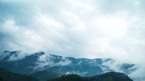 Хиппи в холмах стоковое фото rf