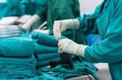 Хирургические инструменты для открытой кардиохирургии Стоковое Изображение
