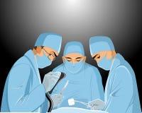 Хирурги в операционной Стоковое фото RF