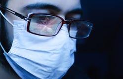 Хирург на работе Стоковая Фотография RF