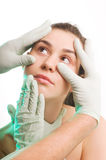 хирург перчаток стоковая фотография