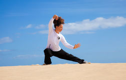Хи Tai в дюнах стоковое изображение
