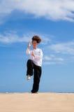 Хи Tai в дюнах стоковое изображение rf