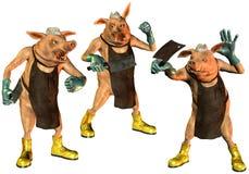 хладобойня свиней Стоковое Изображение RF