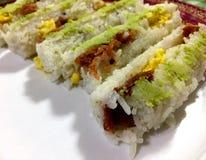 Хлебец говядины Maki стоковая фотография rf