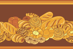 хлебопекарни иллюстрация вектора