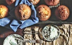 Хлебопекарня свежей хлебопекарни свежая вкусная домодельно Стоковые Фотографии RF
