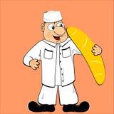 хлебопек Стоковая Фотография