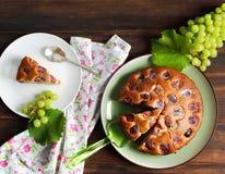 хлебоуборка виноградины торта Стоковое Изображение RF