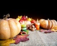 Хлебоуборка официальный праздник в США в память первых колонистов Массачусетса стоковое изображение