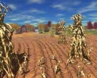 хлебоуборка фермы дня бесплатная иллюстрация