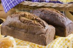 Хлебцы торта банана Стоковые Изображения RF