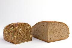 хлебцы 2 хлеба Стоковое Изображение