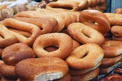 хлебцы bagels Стоковые Фото