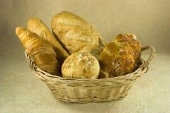 хлебы корзины Стоковая Фотография RF