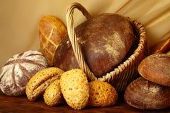 хлеб ассортимента Стоковые Фотографии RF