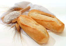 хлеб багета Стоковое Фото