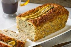 Хлеб банана и хлебец гайки Стоковые Изображения