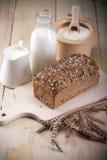 хлеб выпечки стоковое фото