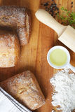 Хлеб выпечки Стоковые Фото