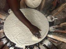 хлеб выпечки Стоковое фото RF