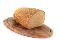 хлеб доски деревянный Стоковое Изображение RF