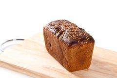 хлеб доски деревянный Стоковая Фотография RF