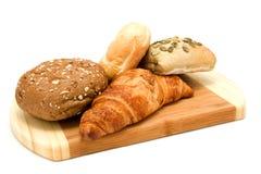 хлеб доски деревянный Стоковое фото RF