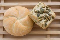хлеб доски Стоковая Фотография
