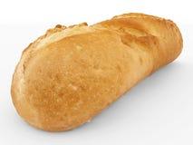 Хлеб изолированный на бело- конце вверх - 3d бесплатная иллюстрация